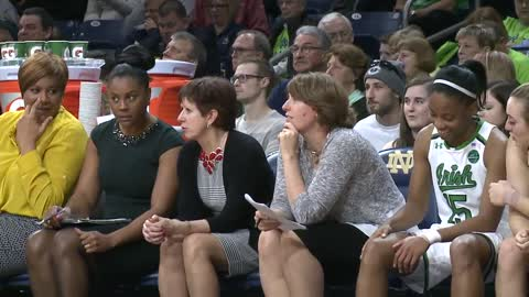 Notre Dame's Cunningham honored at Indiana Basketball Hall of Fame
