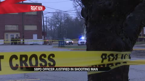 officer who shot suspect on elwood will not face charges right now 1