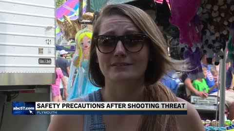 Officers ensure safety at Blueberry Fest
