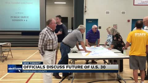 Kosciusko Co. officials discuss future of US-30 at public input...