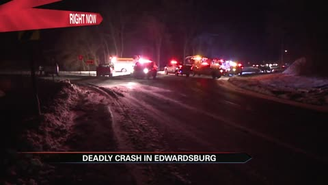 One dead after a serious crash in Cass County
