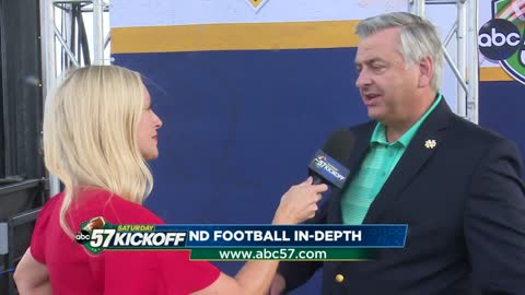 One on one with Jack Nolan: Notre Dame vs. Michigan