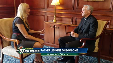 One on one with Notre Dame President Rev. John I. Jenkins