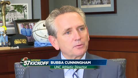 One-on-one with UNC Athletic Director Bubba Cunningham