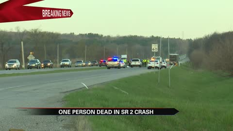 One person dies in crash on State Road 2 in New Carlisle