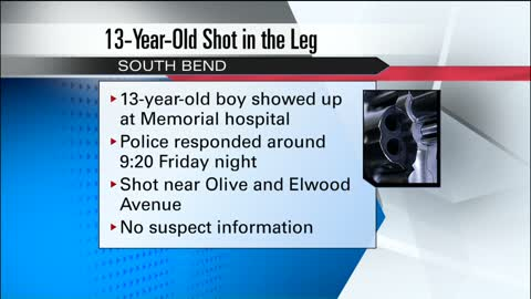 One person injured after shooting in South Bend