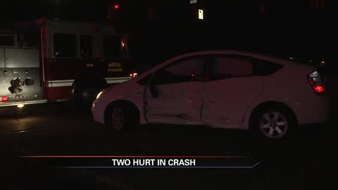 One taken to hospital after crash in Niles