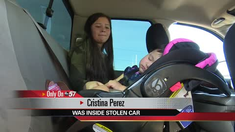Teenager in car stolen from Concord Mall shares brave story