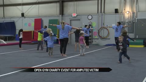 ESA Gymnastics holds open gym charity event for amputee victim