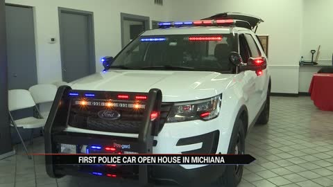Open house held to showcase new hybrid police cruisers
