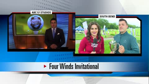 Four Winds Invitational: Golfers tee off to begin tournament