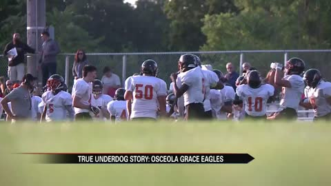 "Osceola Grace looking to prove ""it's not where you come from"""
