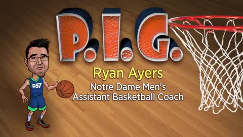 P-I-G with Notre Dame Assistant Coach Ryan Ayers