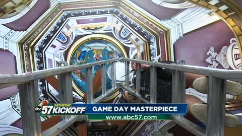Local artist uses work to enhance game day experience