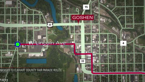 Elkhart County 4-H Fair parade changes route this year