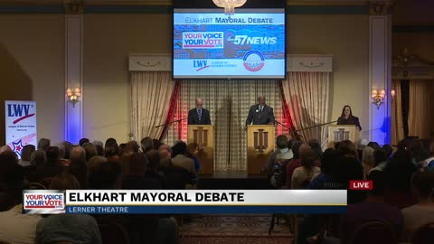 WATCH: Elkhart mayoral candidate debate