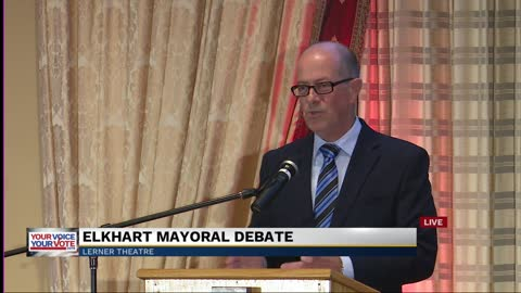 Part 2: Elkhart mayoral debate