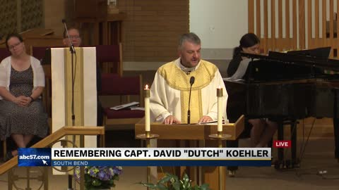 Part 2: Funeral for South Bend Fire Captain David 'Dutch'...