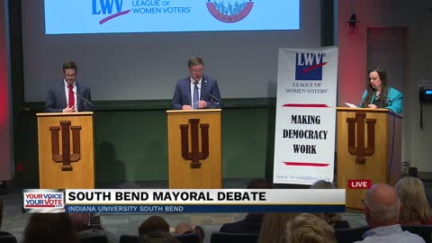 Part 2: South Bend mayoral debate