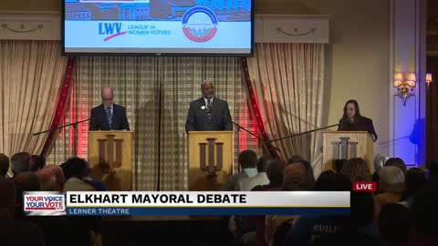 Part 3: Elkhart mayoral debate