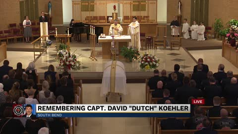 Part 3: Funeral for South Bend Fire Captain David 'Dutch'...