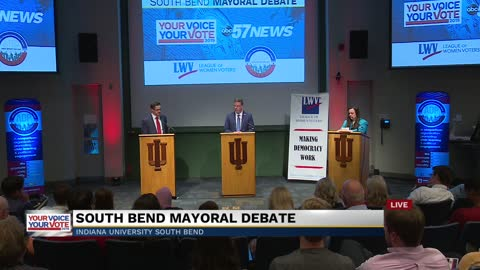 Part 3: South Bend mayoral debate