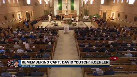 Part 4: Funeral for South Bend Fire Captain David 'Dutch'...