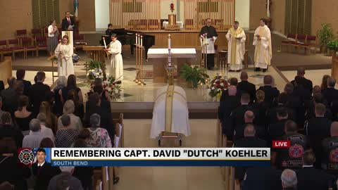 Part 5: Funeral for South Bend Fire Captain David 'Dutch'...