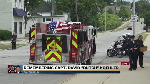 Part 6: Funeral for South Bend Fire Captain David 'Dutch'...