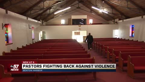 Pastors fighting back against violence