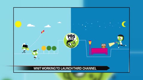 PBS President visits WNIT to support new 24 hour kid's channel