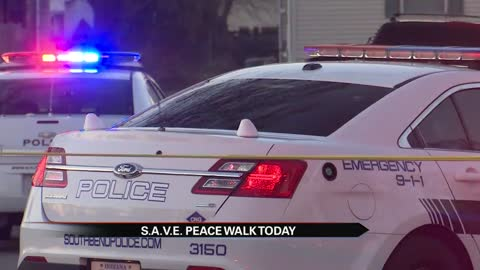 S.A.V.E. outreach team leads peace walk
