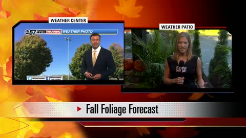 Latest leaf-peeping forecast