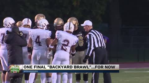 "Penn and Mishawaka prepare for final ""Backyard Brawl""...for..."