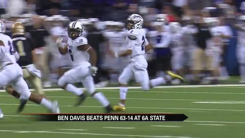 Penn football drops state title game to Ben Davis