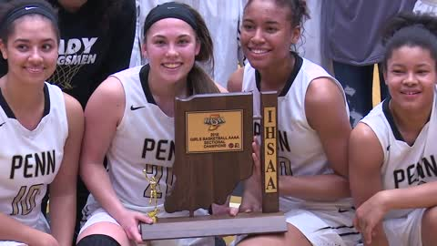 Penn girls hoops top St. Joe for sectional championship
