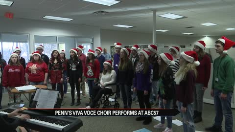 Sounds of the Season: Penn High School's Viva Voce Choir, SB...