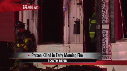 person dies in south bend house fire
