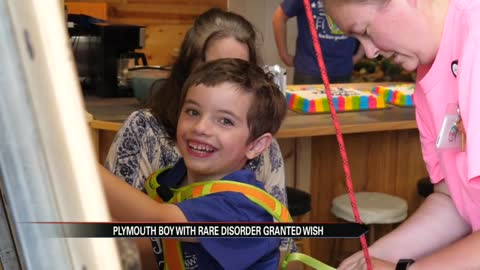 """Make-a-wish"" granted for child with neurological disorder"