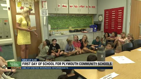 Plymouth Community Schools back in session