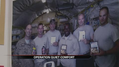 Plymouth couple sending care packages to troops overseas; need volunteers