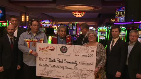 Pokagon Band of Potawatomi Indians donates to South Bend nonprofits
