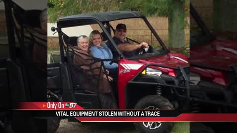 Polaris Ranger stolen from home in Vandalia