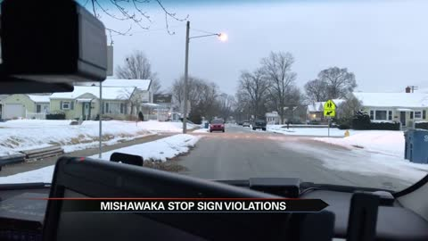 Police crack down on dozens of drivers violating stop signs near...