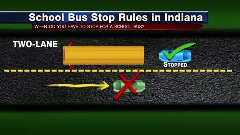 Police cracking down on school bus stop laws