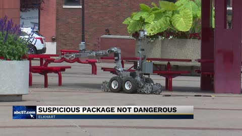 Police determine suspicious package at Civic Plaza to be non-life...