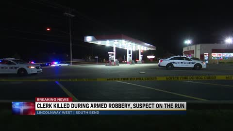 Gas station clerk fatally shot during attempted armed robbery...