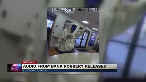Police in Kosciusko County release audio of armed robbery