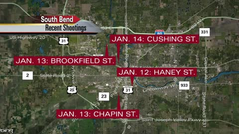 Police investigating fourth South Bend shooting in three days
