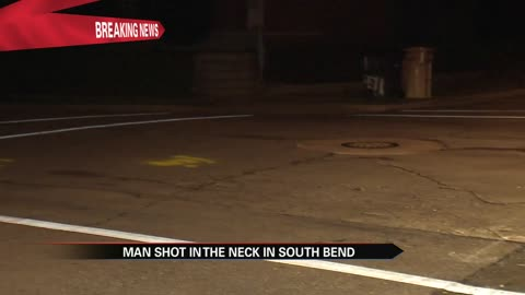 Police look for shooter after man shot in South Bend